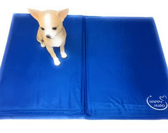 Self-cooling mat KÜHLMATTE for dogs 45 x 60 cm Blue