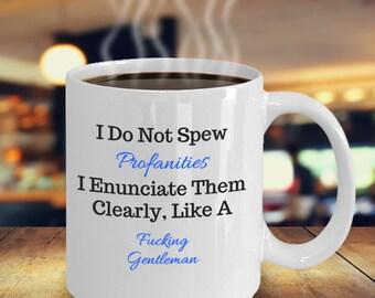 Curse Mug, Rude Mug, Inappropriate Mug, Curse Coffee Mug, Gift For Boss, MUG 10718 Generating Ad Photos