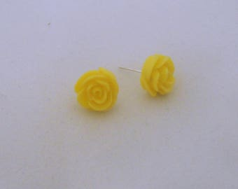 Sparkleigh Rose Stud Earrings