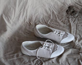 White 50s Sneakers