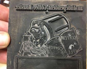 Vintage printing engraving