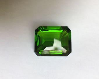 Emerald Cut Green Quartz