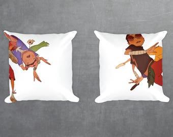 Tekkonkinkreet Set Of Decorative Pillow Cases, Square pillow cases