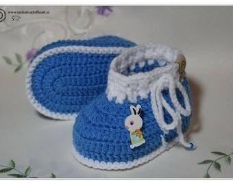 Crochet Baby Shoes, Crochet Baby Booties, Baby Boy Booties, Baby Gift, Baby Shoes, Crochet Baby Announcement, Baby Booties, Newborn shoes