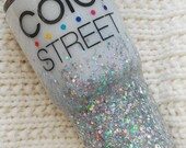 Color Street Glitter Tumbler//Stainless Steel Tumbler//HOGG 30oz 20oz Tumbler//Glitter Dipped//Personalized//Custom Tumbler//Yeti Like Cup