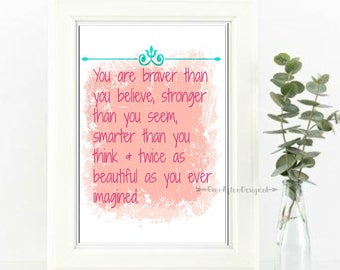 Inspirational Wall Art ~ Motivational Print