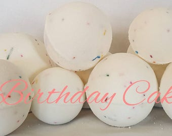 Bambino Birthday Cake Bath Bombs