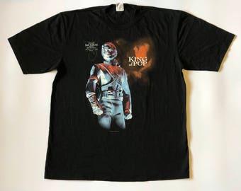 "Vintage 1994 Michael Jackson "" King Of Pop"" T shirt"