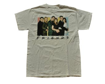 "Vintage 1990s Friends ""I'll Be There For You"" Tee // M // Television // 90s // NYC // Jennifer Aniston // Streetwear"
