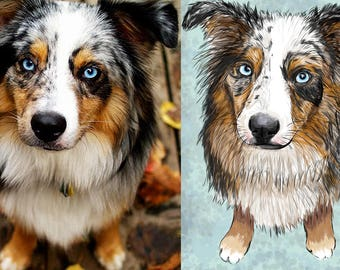 Custom Digitail Painting of your pet!