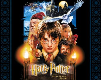 Multi Harry Potter Sorcerers Stone Poster Panel 36in x 44in