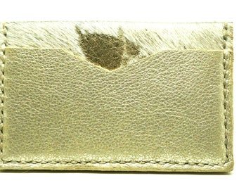 Card holder, card wallet, designer wallet, gold wallet