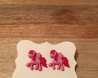 Pony Earrings - Multiple Colors