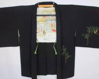 Japanese Kimono Haori Jacket