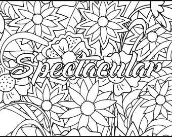 Printable Coloring Pages Coloring pages for adults Digital