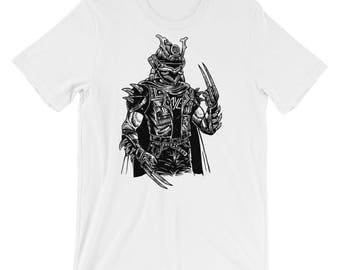 Samurai Punk Short-Sleeve Unisex T-Shirt
