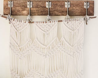 Macrame Wall Hanging on Branch