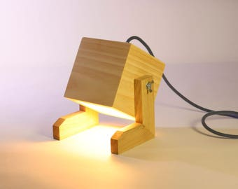 Feety, our company lamp! Light, bedside or living room or office!