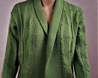Jacket woman Cardigan, Wool Cardigan, vest handmade green vest, vest winter warm vest, Cardigan