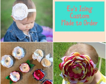 Let's make a custom {standard size} Ev's Icing for your little one