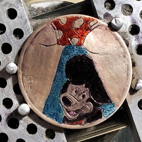 Hobo Nickel Mickey by olmo