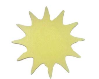 2 inch Sun Machine Cut Outs 10