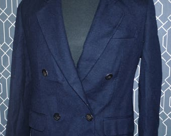 Burberrys Blazer Coat Women Wool  size 11