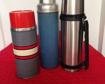 Vintage Thermos (set of 3 for the price)