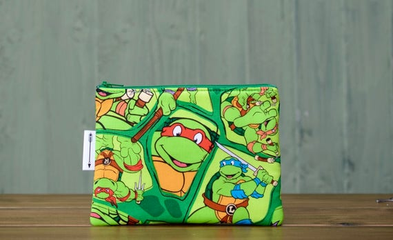 Ninja Turtles zipped pouch