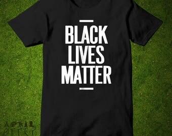 Black Lives Matter Tee Shirt, Black Lives Matter Shirt 100% Cotton, BLM  Tshirt