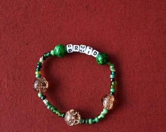 Druid class bracelet! Dnd pathfinder geeky nerdy gamer gaming ttrpg tabletop geek nerd girl rpg roleplaying 5e character