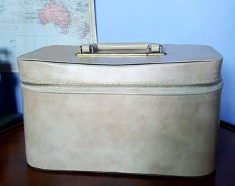 Vintage By Blondy Vanity Case, Travel Bag, Train Case
