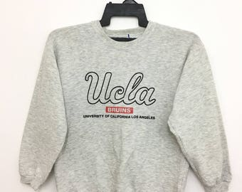 Rare!! 90's UCLA University Of California Los Angeles Sweatshirt Pullover Small Size