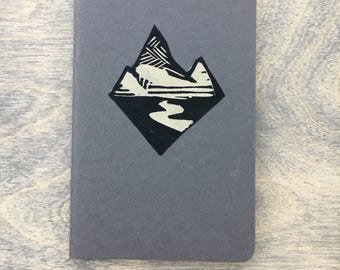 Mini mountain sketchbook