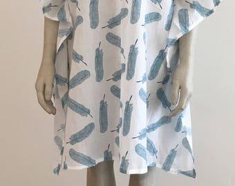 Beach Cotton Kaftan Dress