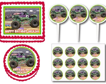 Grave digger party Etsy
