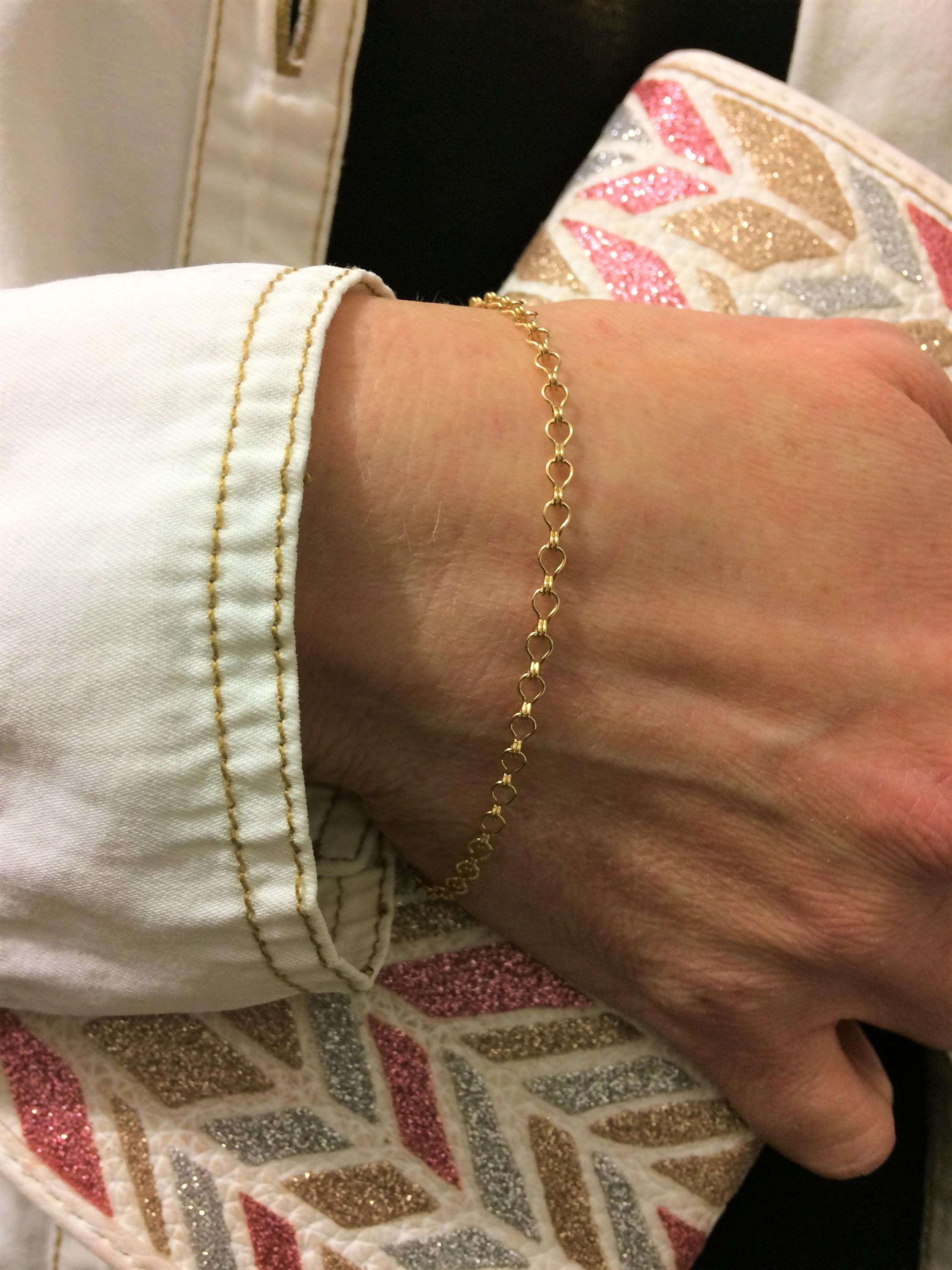 il fullxfull products round niciart cuff gold bracelet solid half dainty