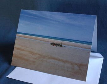 Low Tide Oasis (Note Card)