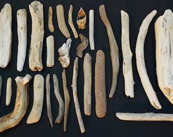 26 Driftwood Pieces
