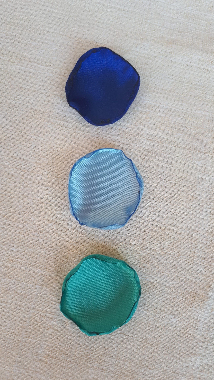 Skyamp; Blue Handmeid Mint Satin Flower Navy Rose Petals BeWxECoQdr