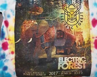Electric Forest XL Tye Dye 2017