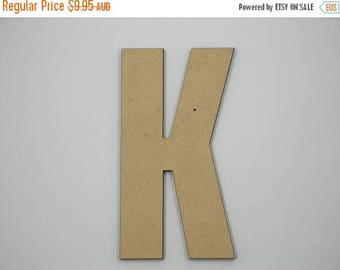 20% OFF OFF 25cm MDF Wood Wooden Letters 3mm Thick Cap