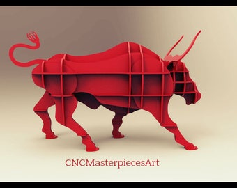 Vector drawing Bull shelf Thickness 10mm. Dimensions 1445х550х860мм.