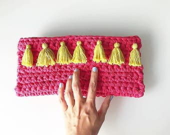 Pink trapilho POUCH