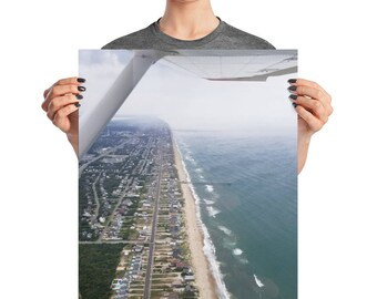 Outer Banks North Carolina Aerial Photo