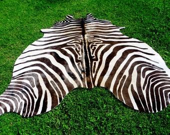 Zebra Rug Etsy