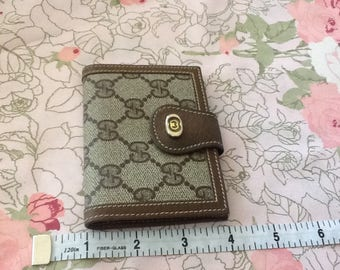 Authentic Vintage Gucci Little Wallet or Business Card Holder Mint
