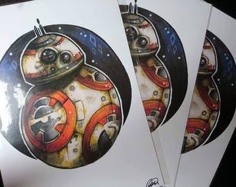 A4 Print: BB-8