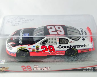 Winners Circle Kevin Harvick Goodwrench #29 1/24 Scale Diecast Nascar