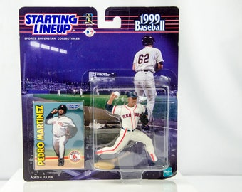 Starting Lineup 1999 Pedro Martinez Action Figure Boston Red Sox